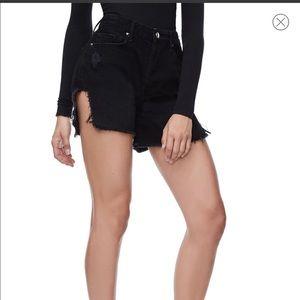 Good American bombshell shorts black